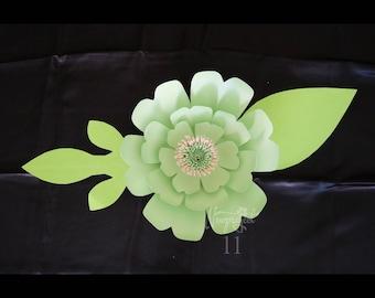 Paper Flower Template. PDF. Template #13