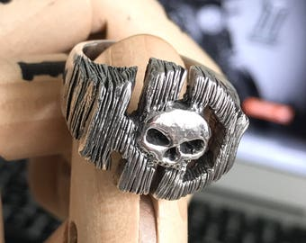 HD Harley Davidson - Handcrafted Sterling Silver Ring