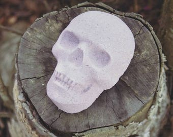 Amethyst Skull Bath Bomb