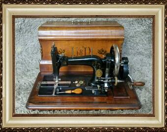 Haid & Neu | Antique Sewing Machine | Karlsruhe Germany 1900 | Nähmaschine | Macchina da Cucire | Machine à Coudre | FREE Shipping*