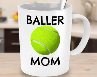 Tennis Mom or Tennis Dad Mug - Tennis Dad Gift - Tennis Mom Gift -Unique Coffee, Tea Cup - Tennis Team Parent, Coach