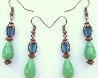 Earring hooks earrings 17552