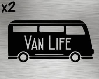Two - Van Life Decals