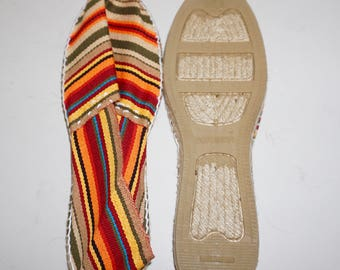 Artisan Espadrilles/ Alpargatas Made in Spain Size 39 EU/7.5-8 US