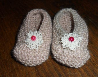 adorable baby ballerina slippers