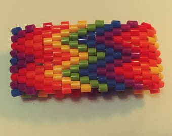 Rainbow Chevron Cuff