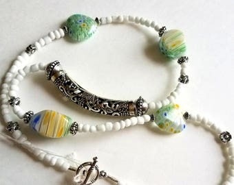absolutely one of a kind artist design Murano glass jewelry