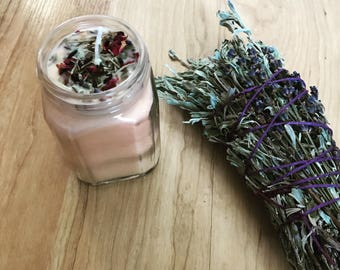 Soothe and Recharge Herbal Blend Candle 10oz