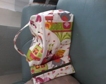 Handmade toiletry bag