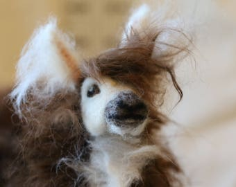 Made to Order Needle Felted Llama