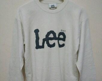 LEE sweatshirt sweater jumper pullover spellout