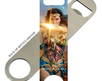 Wonder Woman Gal Gadot  Bottle Opener