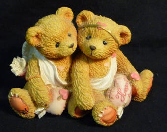 Cherished Teddies Heart To Heart 1994 869082 Boxed