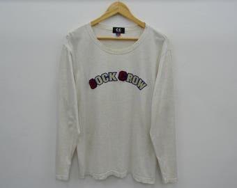 Kansai Yamamoto Shirt Vintage Kansai Yamamoto CC COCK CROW  Long Sleeve Tee T Shirt Size 4