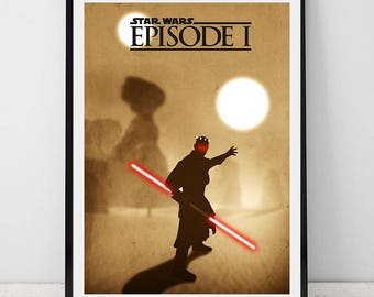 Star wars poster, star wars movie poster, star wars decor, star wars, star wars download, star wars printable, wall decor, star wars print
