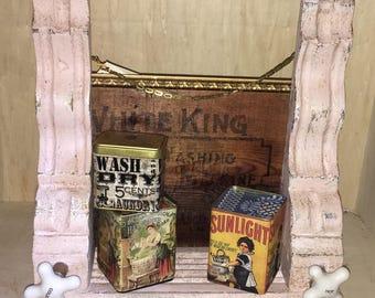 Vintage Victorian corbels shabby shelf