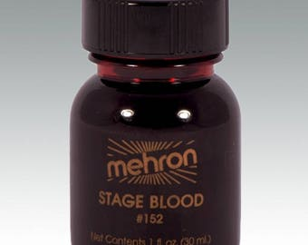 Mehron Stage Blood - Bright Arterial 30ml