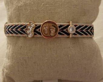Mothers charm bracelet,  keep charm bracelet