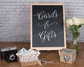 Cards & Gifts - Wedding Chalkboard