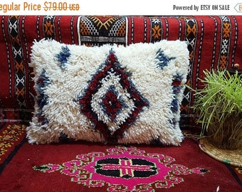 Beni Ourain Pillow handmade Moroccan cushion pillow covers wool