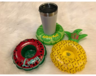 Personalized Inflatable Drink Cozie Set!