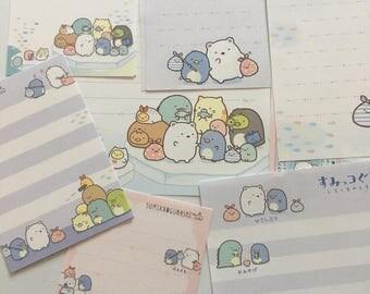 Sumikko Gurashi winter penguin theme memo pad paper