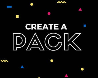 Create a pack of stickers