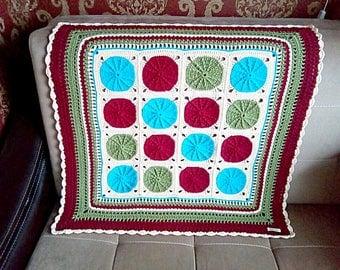 Knit Baby  Boy Blanket Crochet baby girl blanket Knit baby wool blanket Baby blanket crochet Knitted blanket Crib blanket knit plaid