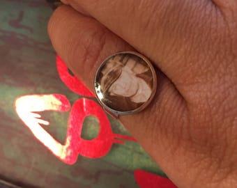 Uni size statement gein ring