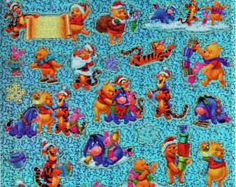 Disney Winnie The Pooh Scrapbook Stickers Embellishments Cardmaking Crafts Sandylion