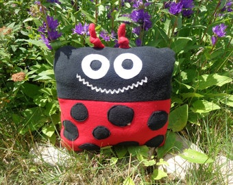 The Lady Bugg Pillow