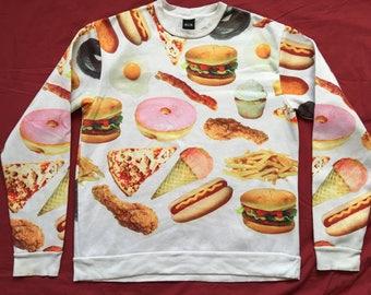 Junk food sweatshirt-