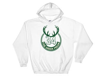 Milwaukee Bucks Giannis Antetokounmpo Greek Freak Sweatshirt