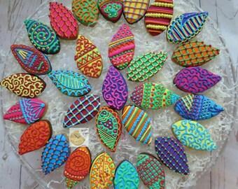 Mini henna/ mehndi biscuits.