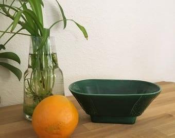 Vintage Handmade Ceramic Japanese Bonsia Planter Bowl
