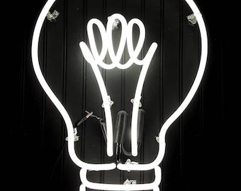 Neon Lightbulb
