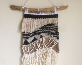 Small Handwoven Wall Tapestry