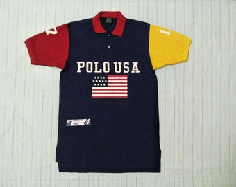 Vintage Polo Usa Multicolor Shirt