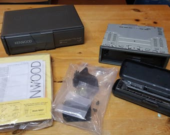 Kenwood Six Disc CD Changer and Cassette Player