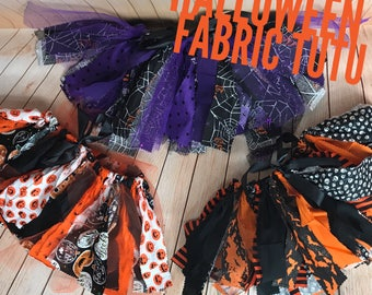 Halloween Fabric Tutu