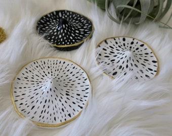 Handmade Clay Incense Holders