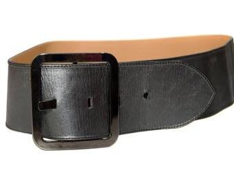 Vintage Angelo ® di Lombardi women belt genuine leather Handmade top craftsmanship