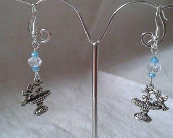 "Earrings ""bird feeder"""