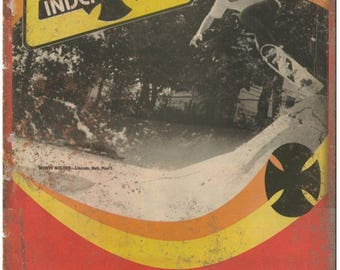 "Independent Trucks Monty Nolder Skateboard Ad 10""X7"" Reproduction Metal Sign S28"