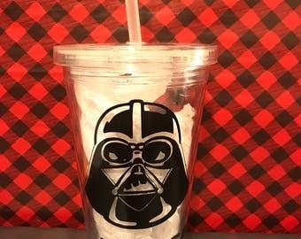 Star Wars Tumbler, Darth Vader Tumbler, Personalized Tumbler, Personalized Star Wars Tumbler, Personalized Darth Vader Tumbler, Tumbler