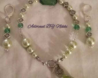 A Perfect Margarita earring and bracelet set