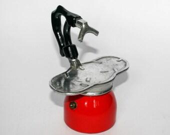 Nova Express Vintage Italian Coffee Maker - 2 cups - Aluminium and bakelite