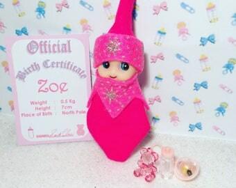 Baby Elf Zoe The Shelf Sitter Doll