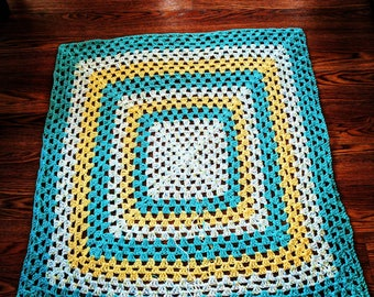 The Granny Square Afghan