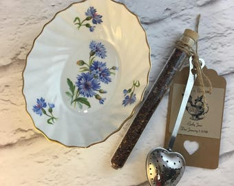 Adderely Oval Dish Vintage Made in England for Treats, Cookies, Nuts, Candy, Butter, Teabag Holder, Strainer, Jewelry